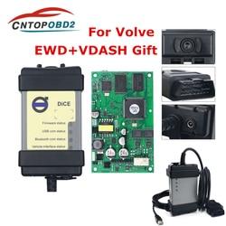 Ferramenta de diagnóstico de carros, para volvo vida, 2014d bd2, multi-placa verde scanner automotivo obd2