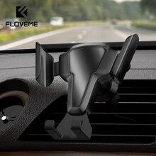 FLOVEME Auto Handy Halter Auto-Lock Auto Air Vent Clip Montieren Handy Stehen Keine Magnetische Schwerkraft Universal Mobile telefon Halter