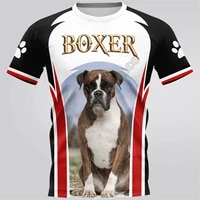 boxer 3d printed t shirts women for men summer casual tees short sleeve t shirts funny short sleeve drop shipping