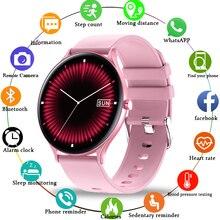 LIGE 2020 nouvelles femmes montre intelligente multi-sport Fitness fréquence cardiaque sang oxygène étanche plein écran tactile dames Smartwatch femmes