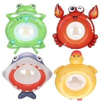 baby swimming ring inflatable infant animal ring float swim pool accessories child seat air mattresse water toys for kids