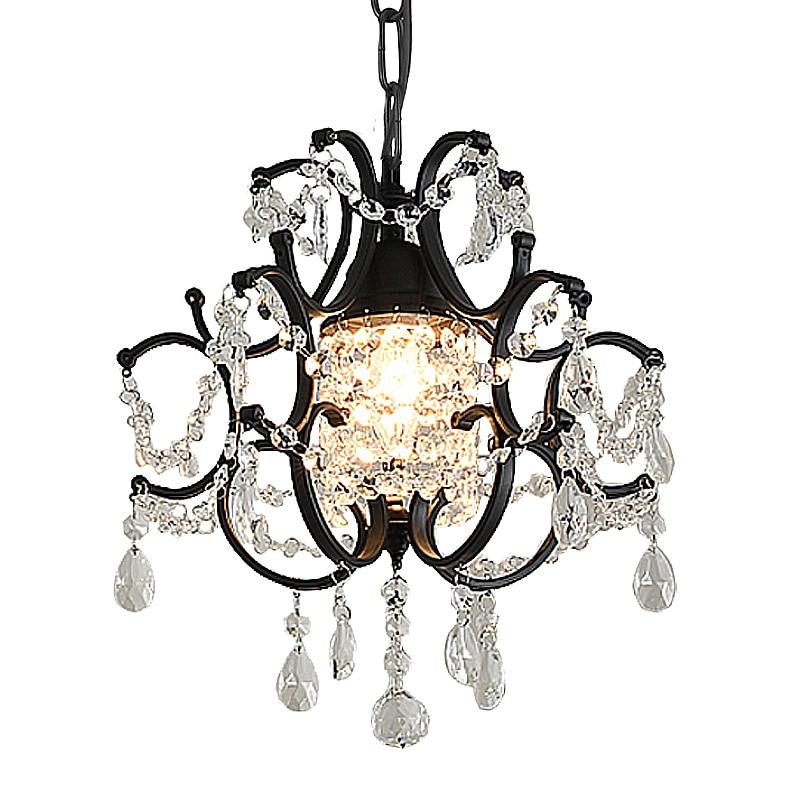 Candelabro moderno De Cristal, lámpara De Cristal, para dormitorio, estudio, Loft