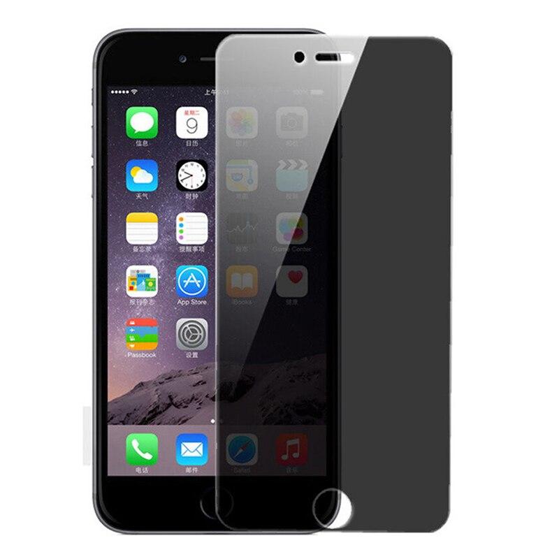 Vidrio Protector para iphone 7 8 6s 6 plus Protector de pantalla Anti reflejo vidrio templado de privacidad en iphone 7 iphone 8 7 8plus