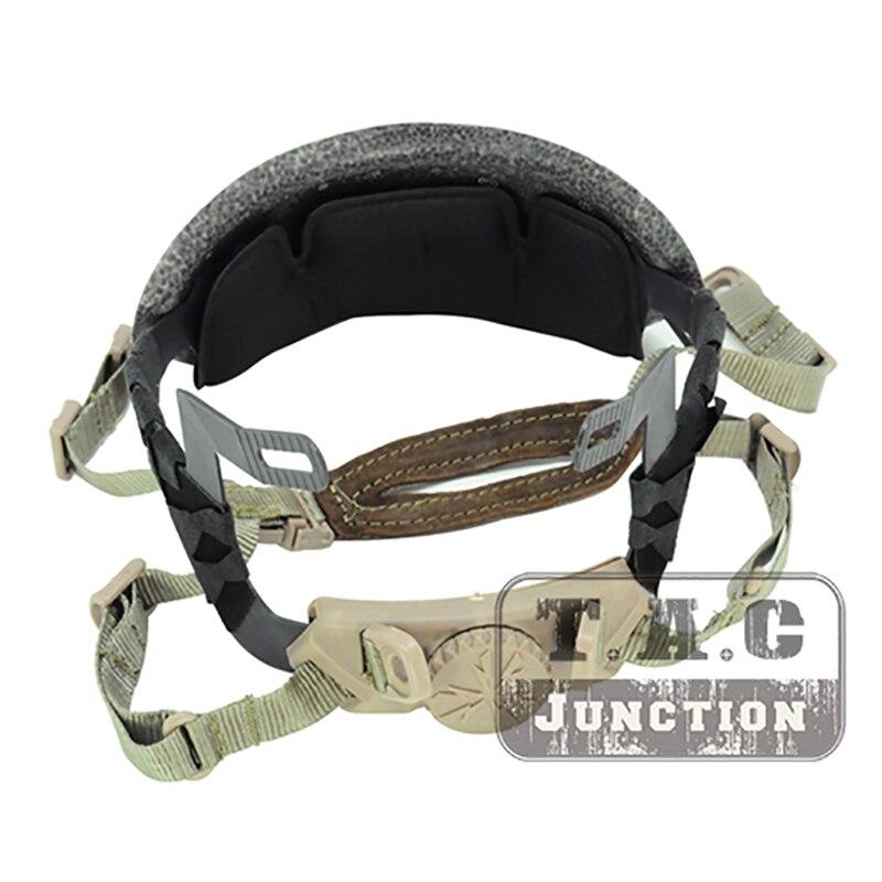 Kit de trazador de líneas táctico occ-dial, diadema de repuesto de bajo perfil y almohadilla para cascos Ops-Core Fast ACH MICH Style BJ PJ