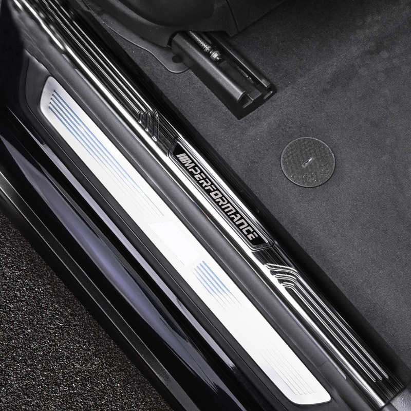 Apply to BMW New 5 Series Threshold Bar Welcome Pedal 3 Series Interior Decorations 1 Series/X1/X5/X3/6 Series GT Modification enlarge