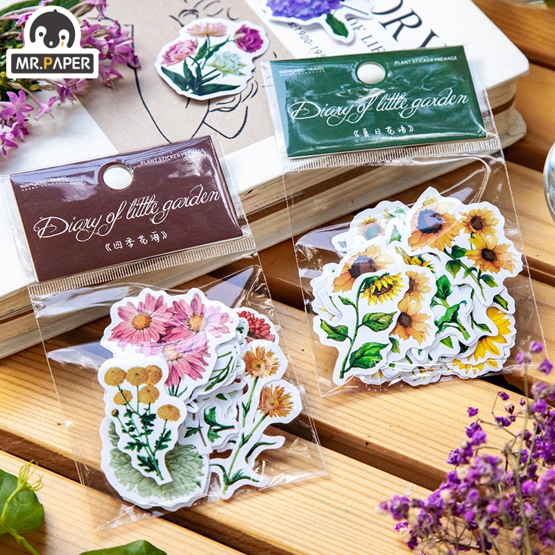 mrpaper-pegatinas-pequenas-decorativas-para-jardin-serie-de-pegatinas-pequenas-con-8-disenos