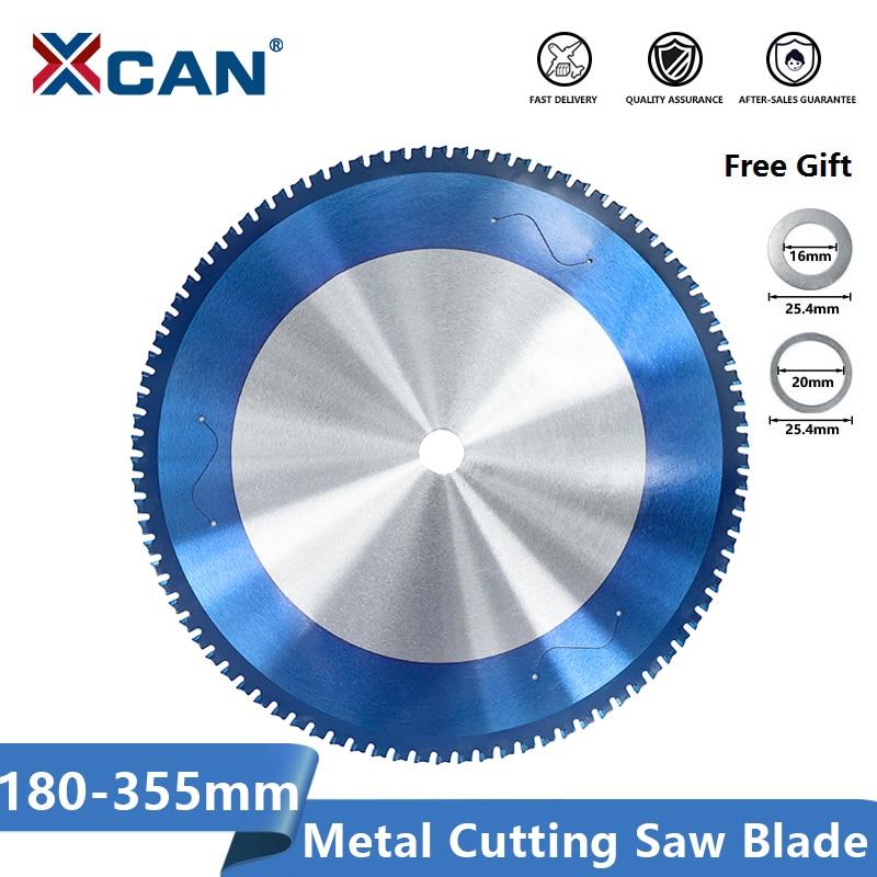 XCAN-منشار دائري لقطع المعادن ، 180-355 مللي متر ، فولاذ ، نانو ، أزرق ، كربيد