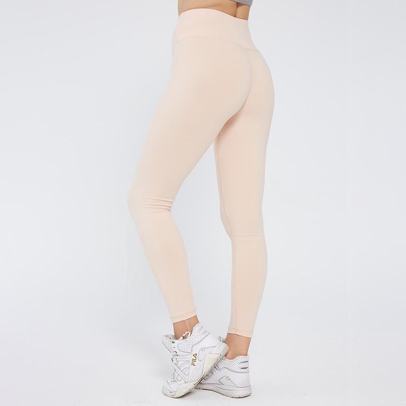 aliexpress - SVOKOR  Fitness Leggings Sexy Solid Leggings Women Push Up High Waist Workout Pants Gym Clothes Seamless Elasticity