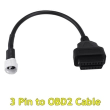 Câble de Diagnostic pour Yamaha   1 pièce, 3 broches à OBD2, Code de défaut, Scanner de Diagnostic pour Yamaha