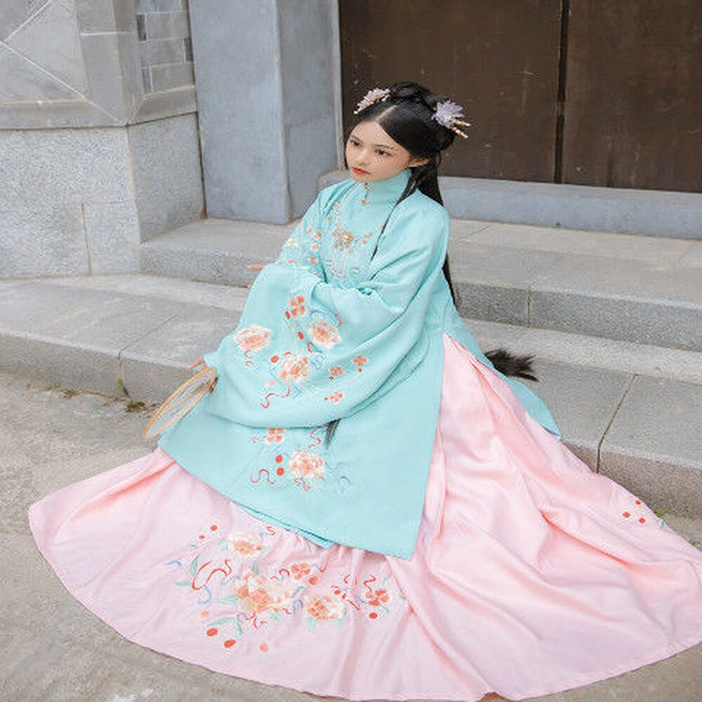 2pcs Women Chinese Traditional Costume Female Hanfu Clothing Lady Han Dynasty Princess Clothing Novelty Tang Dynasty Dress Fairy фото