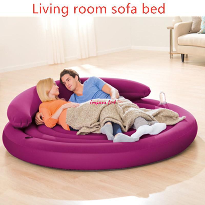 متعددة الوظائف غرفة نوم غرفة المعيشة أريكة كبيرة أثاث للحدائق الخارجية للطي أريكة قابلة للنفخ سرير للسفر كراسي الشاطئ كرسي