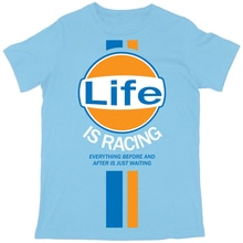 "Batch1 ""Life Is Racing"" Мужская футболка-Steve Mcqueen винтажная ретро модная футболка с принтом"