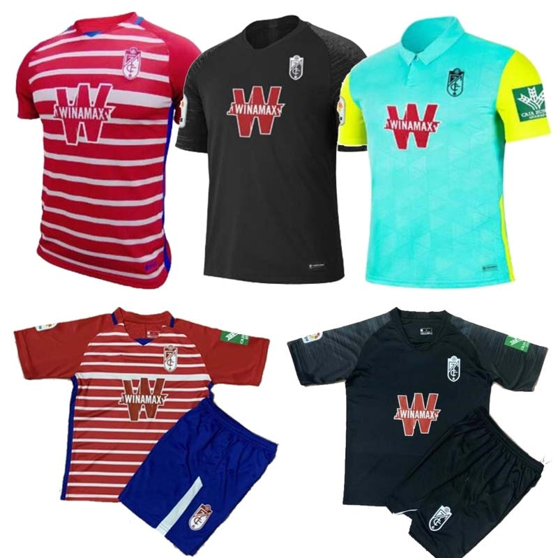 Camiseta de fútbol de Granada para hombre 20 21 Camiseta de fútbol de local y visitante de la tercera equipación del Granada CF