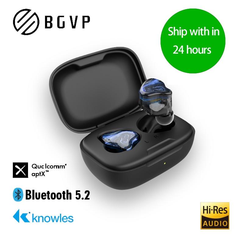 BGVP Q2S Hybrid Technology TWS 5.2 HIFI Wireless Bluetooth Headphones Sports Binaural In Ear Gaming Earphones Earbuds With Mic