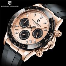 PAGANI DESIGN Top Brand Fashion Men's Chronograph Sports Military Waterproof Watches 40mm Men's Quar