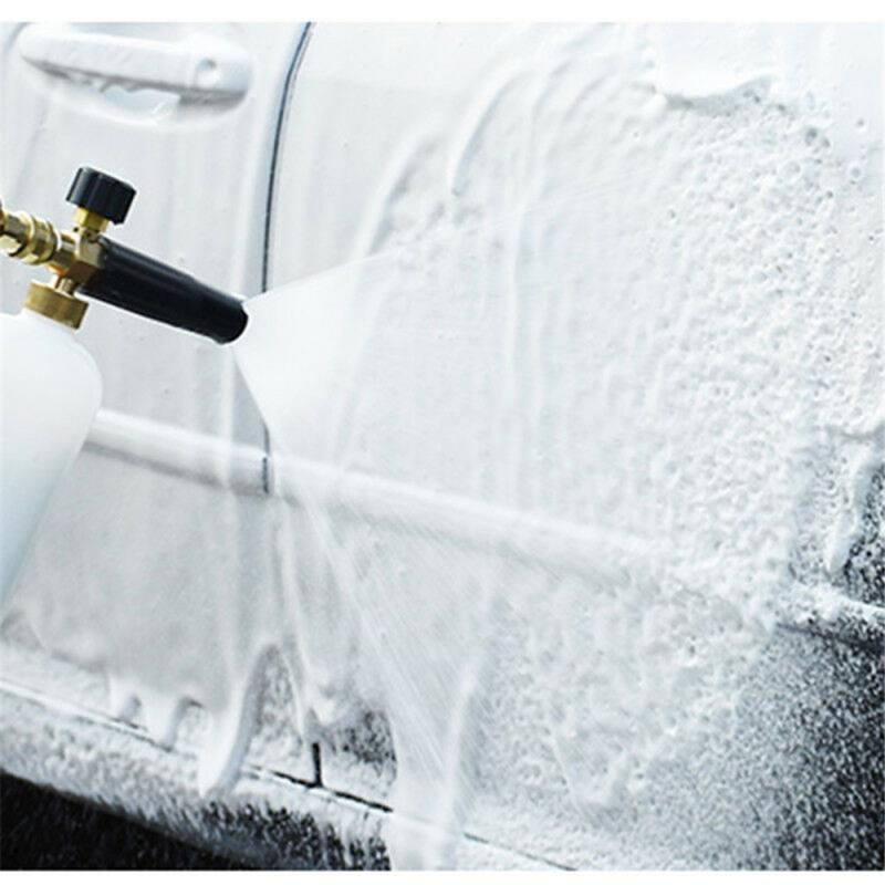 Adjustable High Pressure Soap Foamer Snow Foam Lance Gun Nozzle Car Clean Foam Wash Foam Generator For Karcher K1-K7 Car Washer
