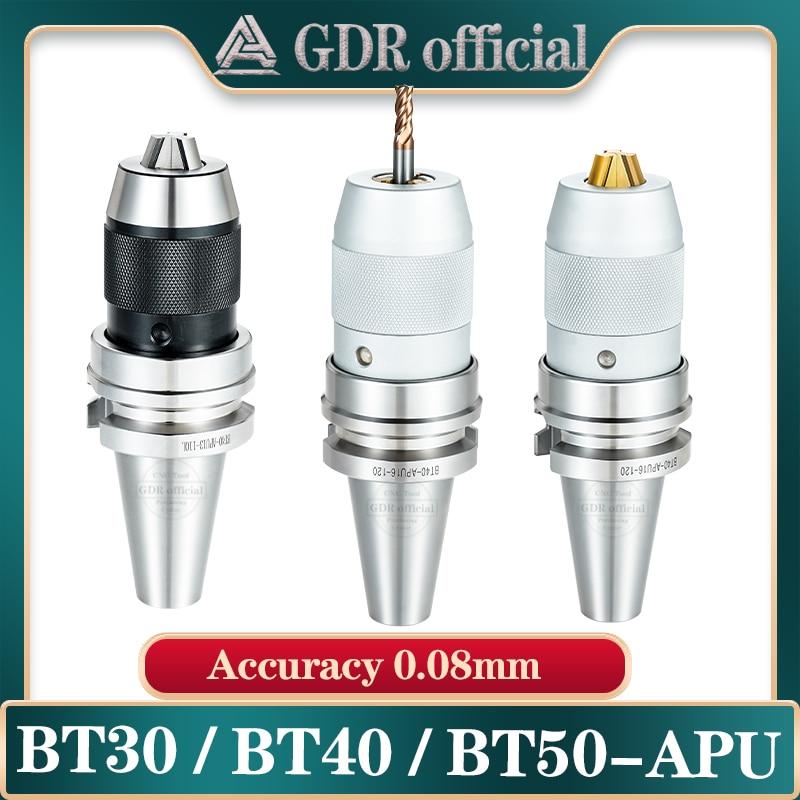 BT30 BT40 APU08 APU13 APU16 BT APU أداة حامل نك المتكاملة الذاتي تشديد مخرطة أداة حامل التلقائي الحفر تشاك كوليت