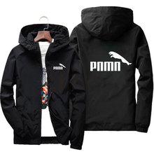 2020 New Plus Size S-7XL Spring Autumn Jacket Men Thin Windbreaker Jaqueta Masculina Slim Fit Young Men Hooded Bomber Jacket Men