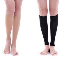 1Pair Unisex Nylon Varicose Veins Medical Secondary Stovepipe Compression Support Socks For Personal