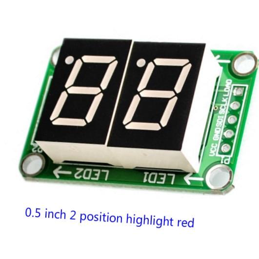 Драйвер 74HC595, модуль цифрового дисплея