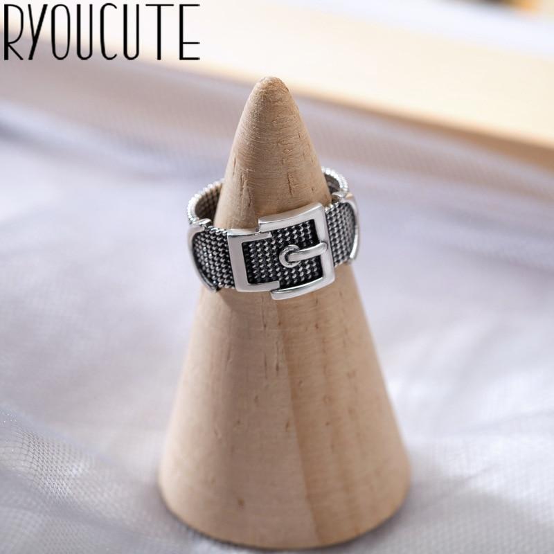 Encantadores anillos de cinturón Boho para mujer, anillo de dedo Vintage 2020 nudillo, joyería de moda femenina, regalos de boda