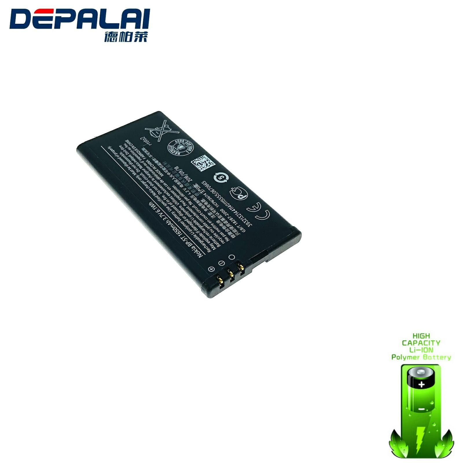 High Quality 1650mAh BP-5T battery for Nokia Lumia 820 Lumia 820T BP5T Mobile phone