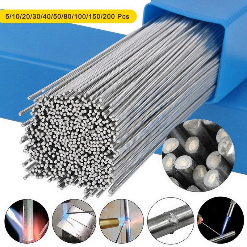 Hastes de Solda Fácil para Solda de Alumínio Precisa de pó de Solda o Fluxo de Alumínio Cored Solda Baixa Temperatura Simples Não
