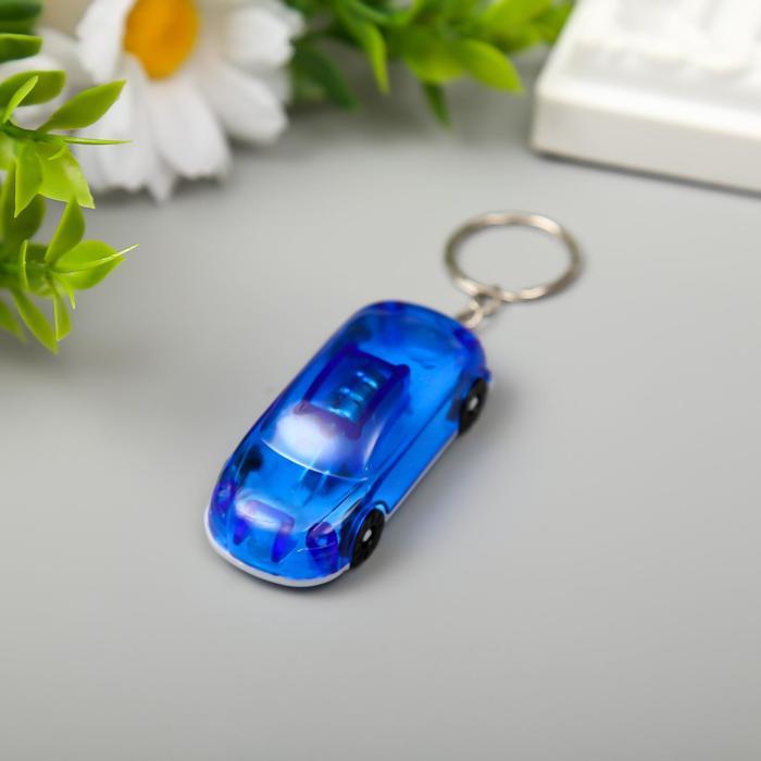 Брелок световой Спортивный автомобиль, МИКС(12 )