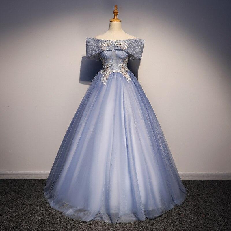 Vestidos De 15 Anos, novedad De 2019, para señora Win Off The Shoulder, dulce vestido De fiesta, graduación, vestido para quinceañeras, vestido barato para quinceañeras