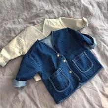 Baby Boys And Girls Denim Jacket Kids Denim Coat Spring And Autumn Casual Baby Girl Coat Kids Jacket