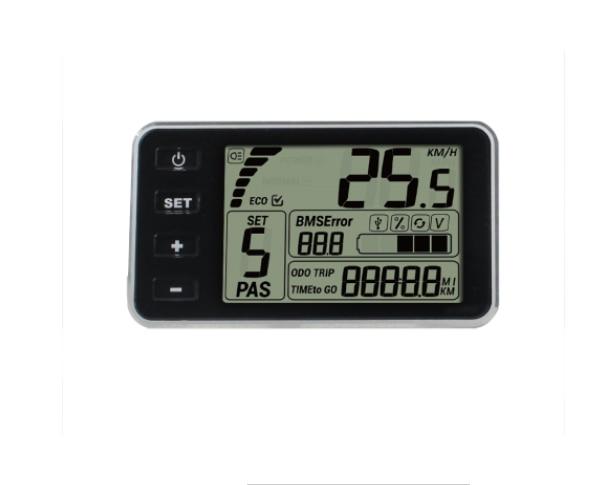 Bigstone-شاشة lcd ذكية C500 للدراجة الكهربائية ، وشاشة lcd ، وقطع غيار لأسرع الدراجة الإلكترونية ، ومجموعة Bafang LED TFT