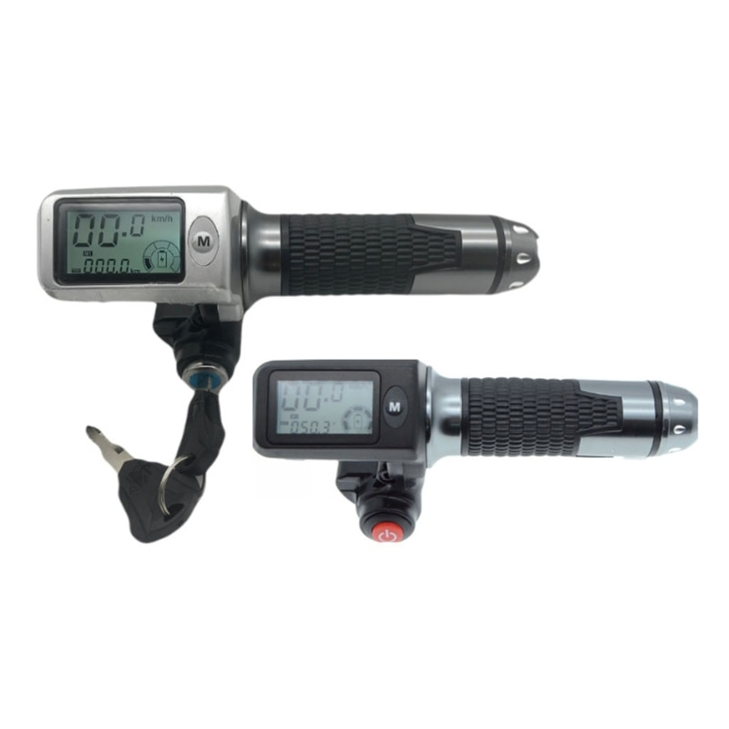 عداد السرعة/عداد المسافات + خنق + lcdديسبلاي36v48v60v + قفل/كروز + مؤشر البطارية سكوتر كهربائي دراجة ثلاثية العجلات