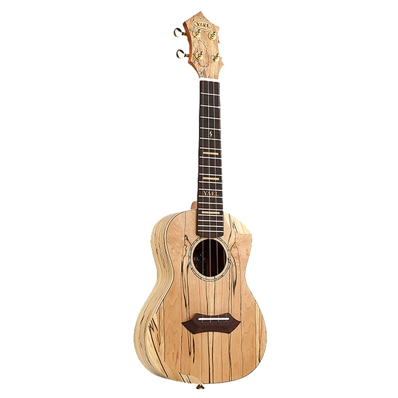 YAEL 23 Inch Ukulele Rotten Wood Concert Ukulele 23 Inch Hawaiian 4 Strings Small Guitar Musical Instruments Gifts