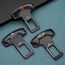 1/2pcs zinc alloy car seat belt clip safety belt plug For Peugeot KIA BMW MINI Hyundai Ford Chevrolet Volkswagen Toyota Honda