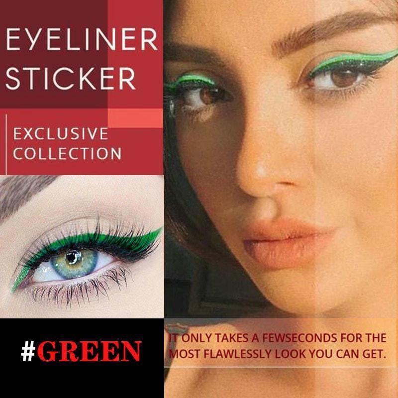 20PCS Eyeliner Sticker Sexy Women beauty & health Korean Fashion Makeup Set Cute Stickers Pack Water