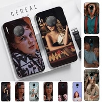 toplbpcs stranger things millie bobby brown phone case for huawei mate 20 10 lite pro x honor paly y 6 5 7 9 prime 2018 2019