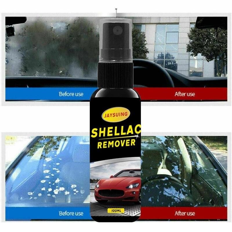 Agente de limpieza de pintura de coche de 30ml/50ml/100ml, limpiador de goma laca de coche, agente de limpieza de vidrio pulido para el cuidado de la pintura de laca de coche