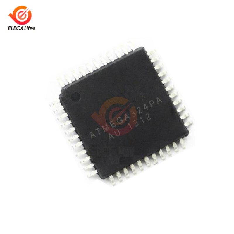 1 шт. ATMEGA324PA-AU ATMEGA324PA ATMEGA324 QFP-44 новый оригинальный IC MCU 8BIT 32KB флэш-памяти