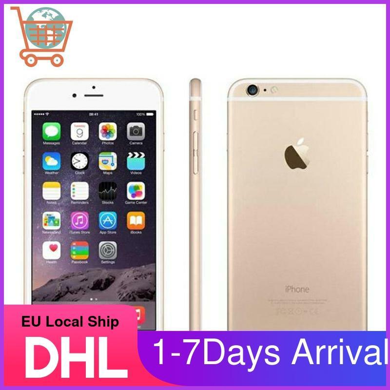 Unlocked Original Apple iPhone 6 IOS 4.7 inch Dual Core WIFI 16/64/128GB ROM 8.0 MP Camera 3G WCDMA IOS 4G LTE Apple Phone