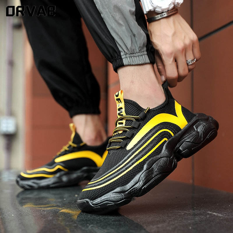 New Fashion Shoes Men Tenis Masculino Comfortable Breathable Mesh Men Sneakers Zapatos...