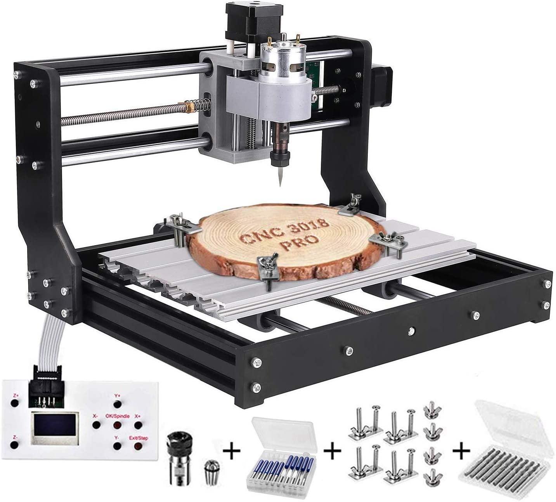 CNC 3018 Pro CNC Engraving Machine kit GRBL Control DIY Router Engraver Machine PVC Wood Carving 3 Axis PCB Milling Machine