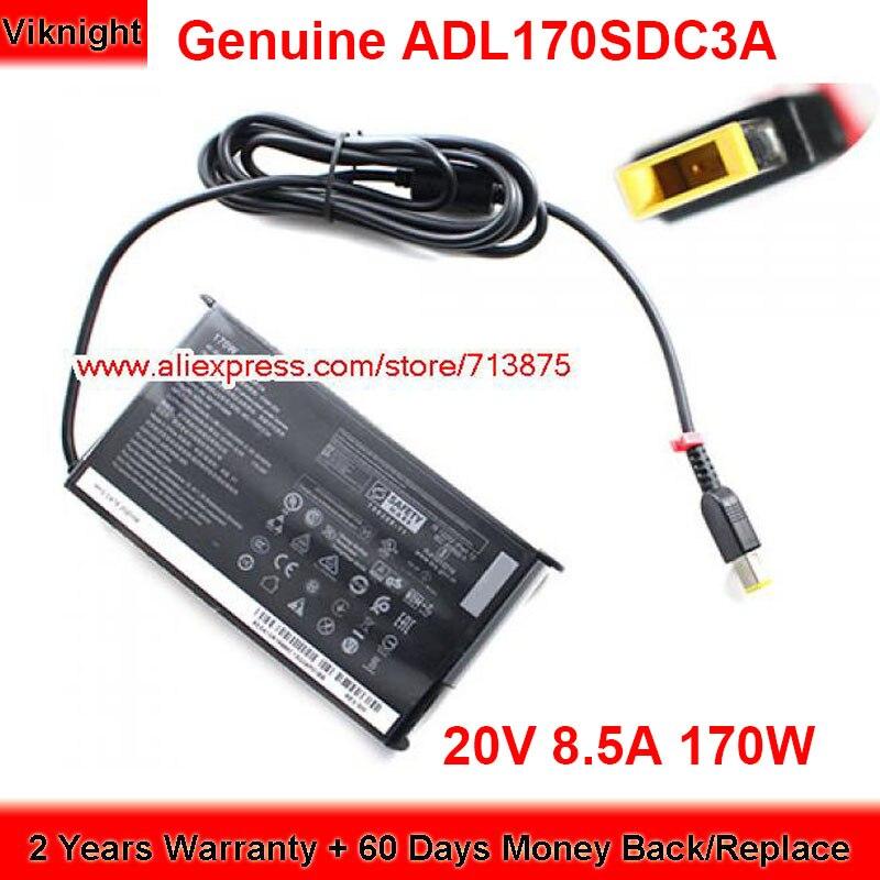 حقيقي ADL170SDC3A 170 واط شاحن 20 فولت 8.5A التيار المتناوب محول لينوفو SA10R16886 SA10R16882 02DL136 02DL140 امدادات الطاقة