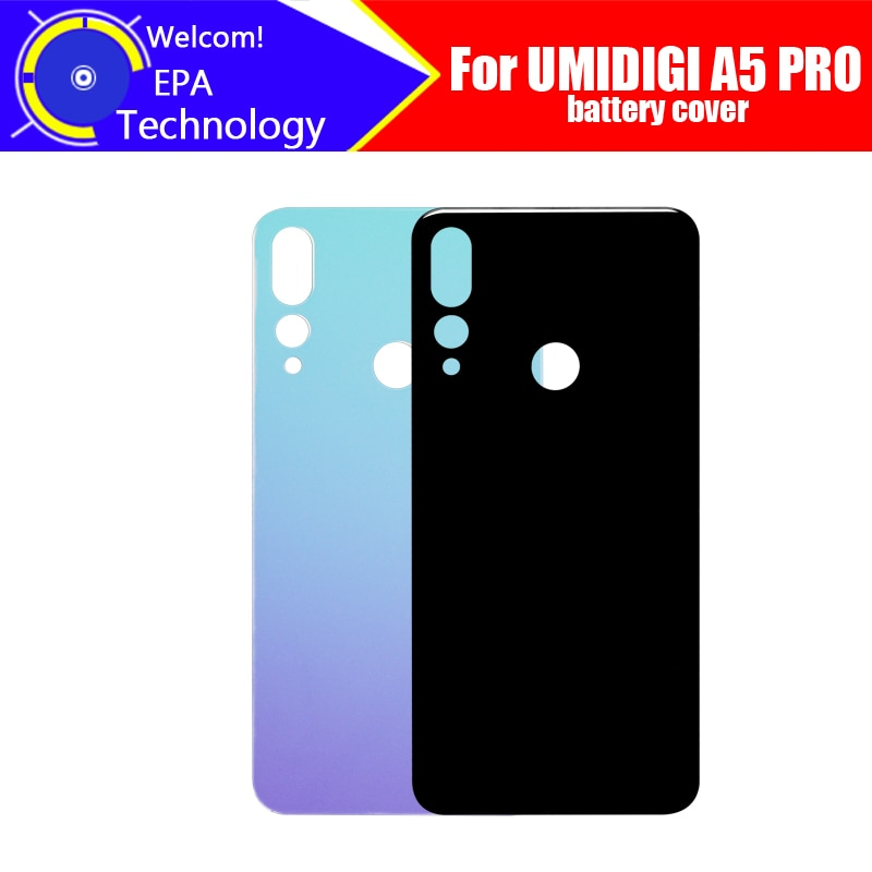 UMIDIGI A5 PRO Battery Cover 100% Original New Durable Back Case Mobile Phone Accessory for UMIDIGI