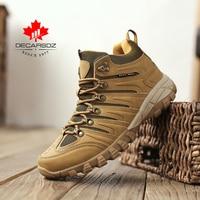 DECARSDZ Men's Boots 2021 Outdoor durable outsole Sneakers Shoes Men Casual Boots Men Comfy design Lace-up Fashion Men Boots