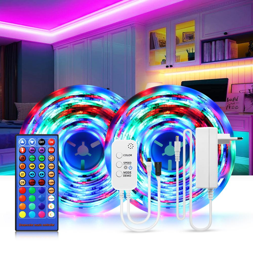 Bluetooth LED Wall Lamp WS2811 Voice Music Sync LED Light Strip Sconce lamps Bathroom Bedroom Decor Lamp Stairs Indoor Lighting
