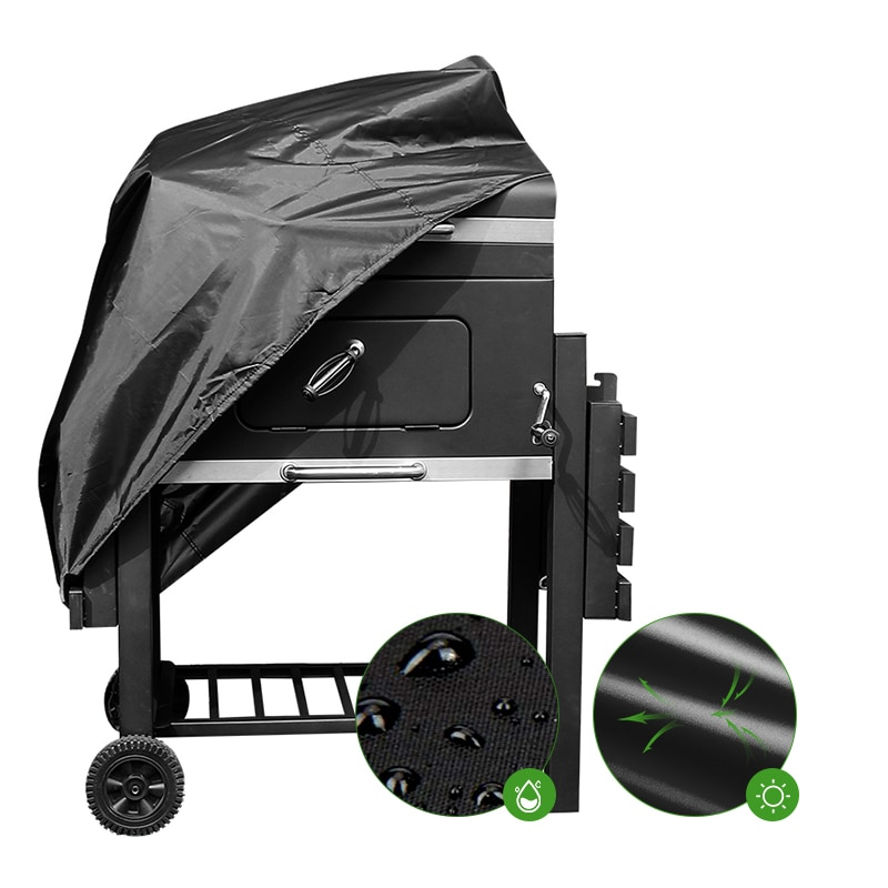 BBQ Grill barbacoa cubierta de lluvia al aire libre para Gas carbón eléctrico portátil impermeable barbacoa cubierta suministros para el hogar bbq Accesorios