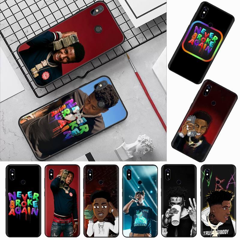 NBA Youngboy asla kırık özel yumuşak telefon kılıfı Xiaomi Redmi için not 4 4x5 6 7 8 pro s2 artı 6A PRO