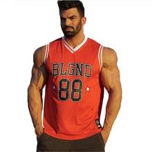 Débardeur sans manches pour hommes, débardeur pour gym, Fitness, vêtement de basket-ball, body, respirant, séchage rapide, été décontracté