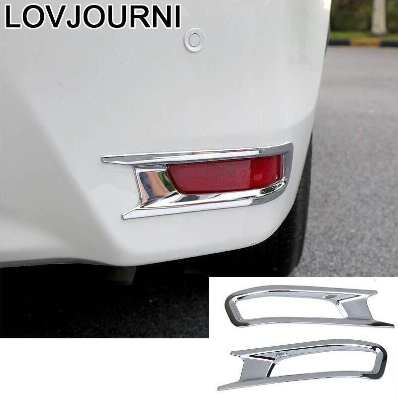 Paneles traseros para carrocería de coche, Pedal Exterior para automóvil, piezas de decoración automotriz, embellecedor 14 15 16 17 18 para Toyota Corolla