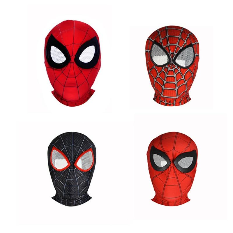 Halloween Performance Stage Children Adult Cosplay Anime Spiderman Deadpool Venom Mask Glasses Hood Headgear